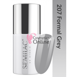 Oja UV Semilac 207 gri Formal Grey 7 ml